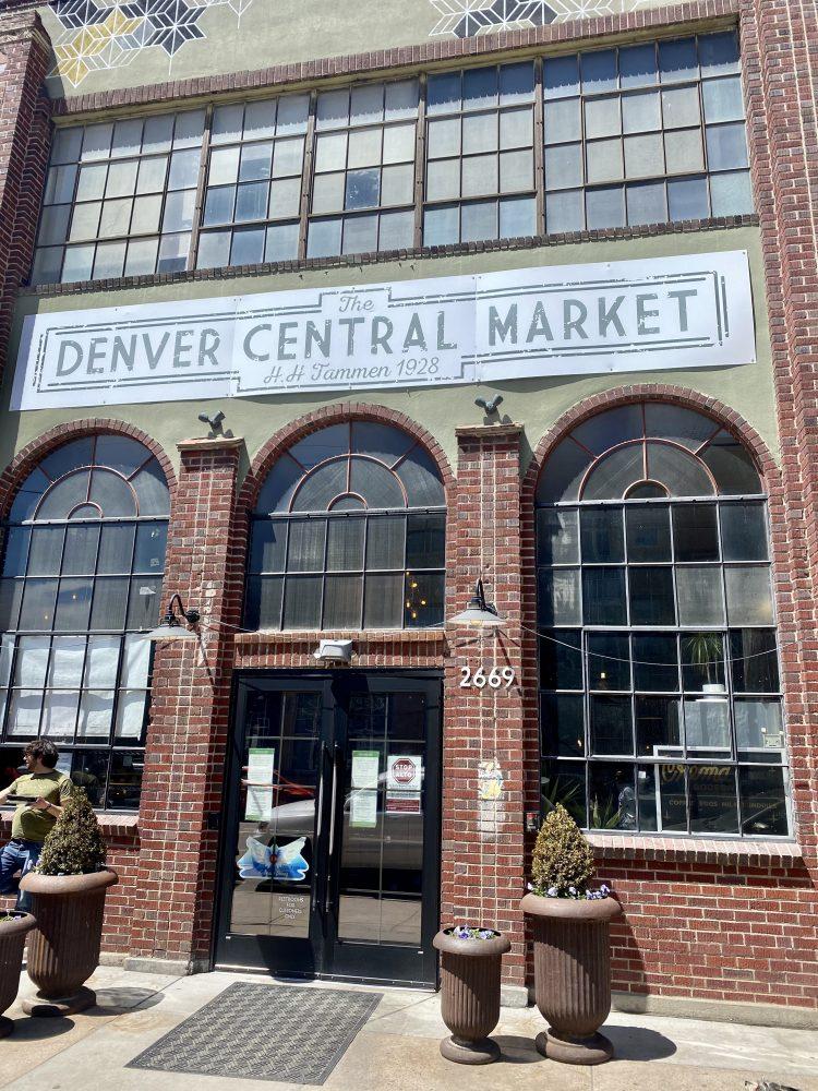 denver travel guide, denver central market